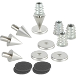 DSS2-SN Satin Nickel Spike Set 4 Pcs.