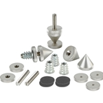 DSS5-SN Satin Nickel Spike Set 4 Pcs.