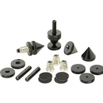 DSS5-BK Black Spike Set 4 Pcs.