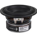 "TCP115-4 4"" Poly Cone Midbass Woofer 4 Ohm"