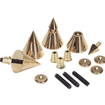 DSS4-G Gold Speaker Spike Set 4 Pcs.